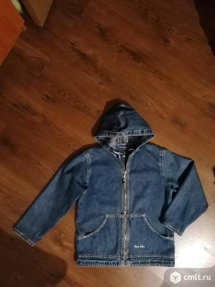 Куртка джинсовая. Фото 2.
