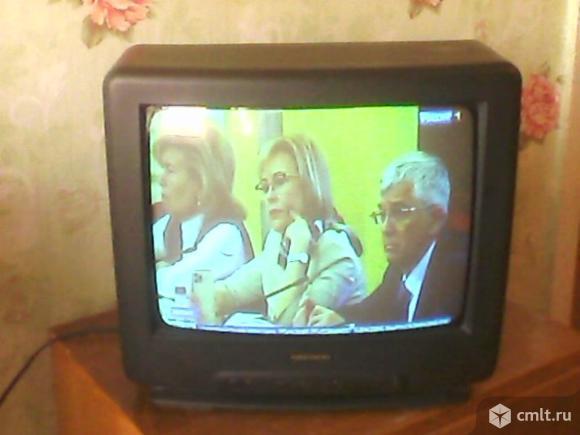 Телевизор кинескопный цв. Daewoo DNQ-14A1. Фото 1.