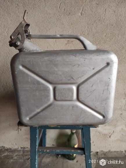 Канистры алюминиевые. Фото 1.