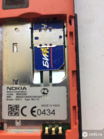 Телефон Nokia 1202-2. Фото 2.