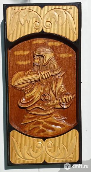 Нарды деревянные резные. Фото 1.