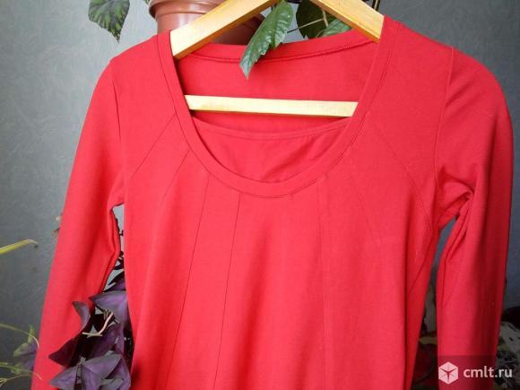 Платье женское трикотажное. Фото 1.