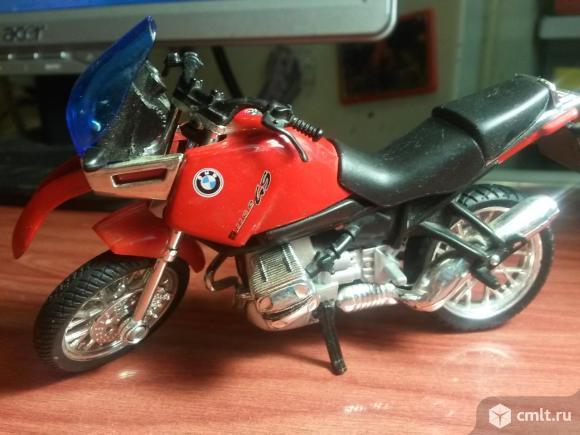 Модель мотоцикла. Фото 1.