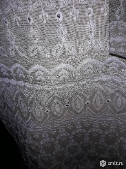 Новое очень качественное платье из льна с пиджаком. Все отделано красивым шитьем.. Фото 4.