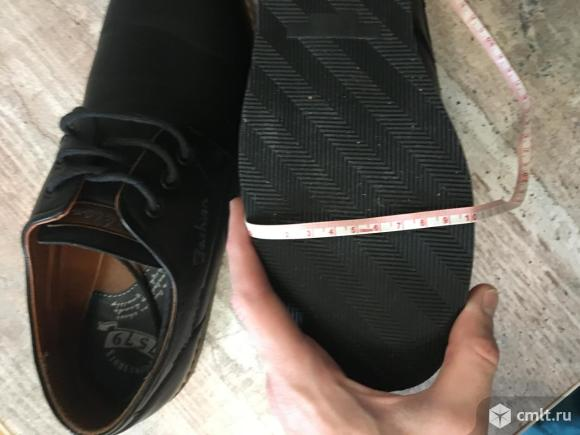 Мужские полуботинки feima shoes. Фото 10.