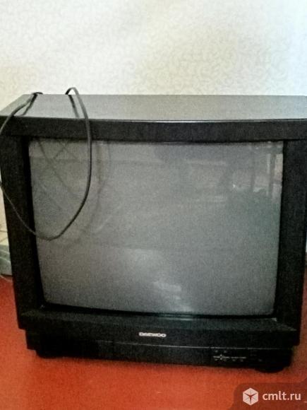 Телевизор кинескопный цв. Daewoo. Фото 1.