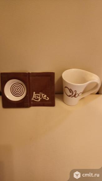 Кофейная пара (чашка и блюдце). Фото 1.
