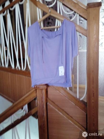 Блузка женская, летняя, вискоза. Фото 2.