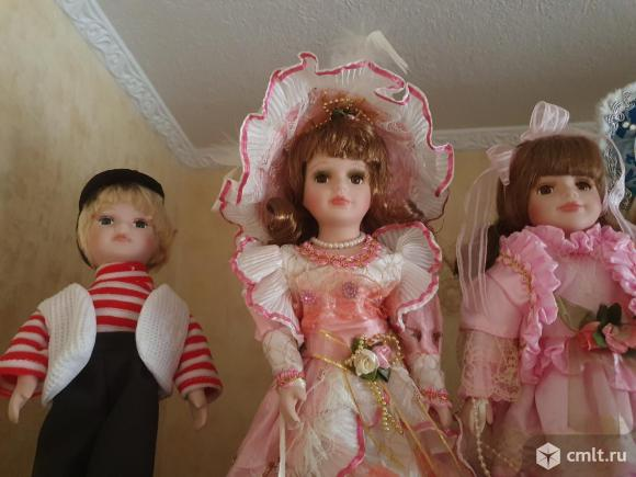Куклы фарфоровые. Фото 5.