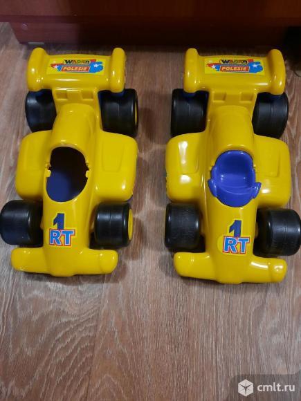 Машинка гоночная автомобиль Wader Формула 1 34.5см. Фото 1.