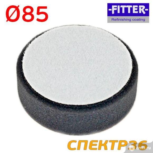 Поролоновый полировальник Deerfos ф85 черный. Фото 1.