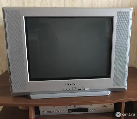 Телевизор кинескопный цв. Samsung Samsung CS-21K05MJQ. Фото 1.