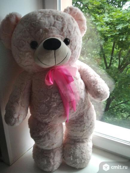 Медвежонок розовый. Фото 3.