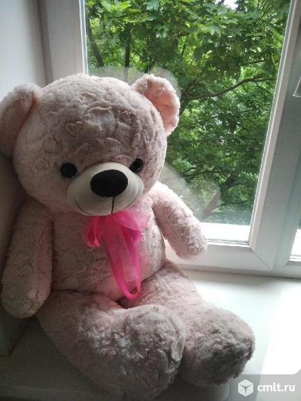 Медвежонок розовый. Фото 1.