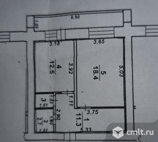 1-комнатная квартира 47 кв.м. Фото 12.