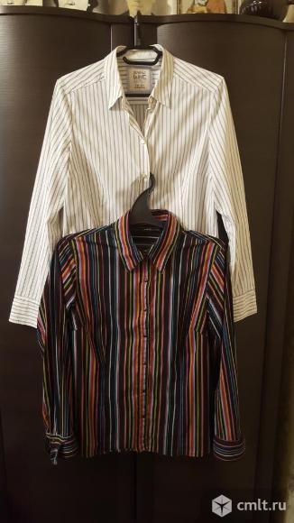 Блузы 2шт хлопок 48-50. Фото 1.