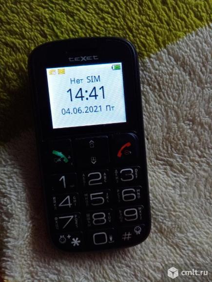 Телефон TeXet Тм-в114. Фото 1.