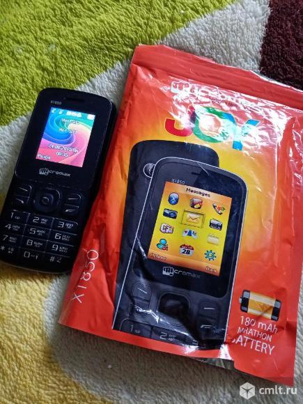 Телефон Micromax X1850. Фото 1.