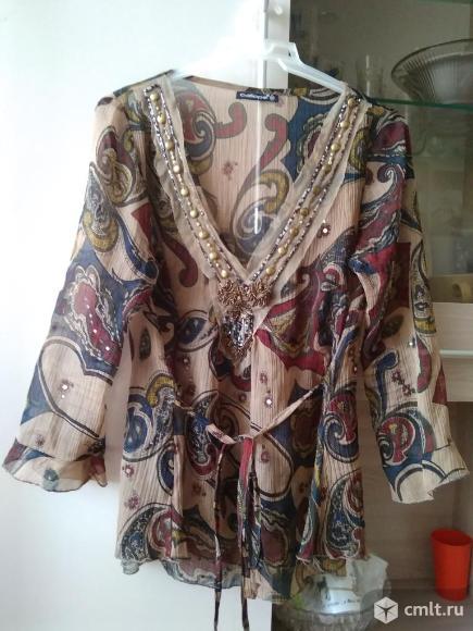 Блузки,кофты,футболки р.46-50. Фото 6.