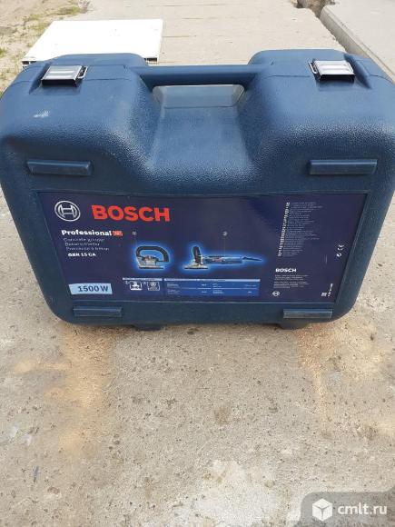 Шлифмашина bosch GBR 15 CA Professional по бетону. Фото 5.