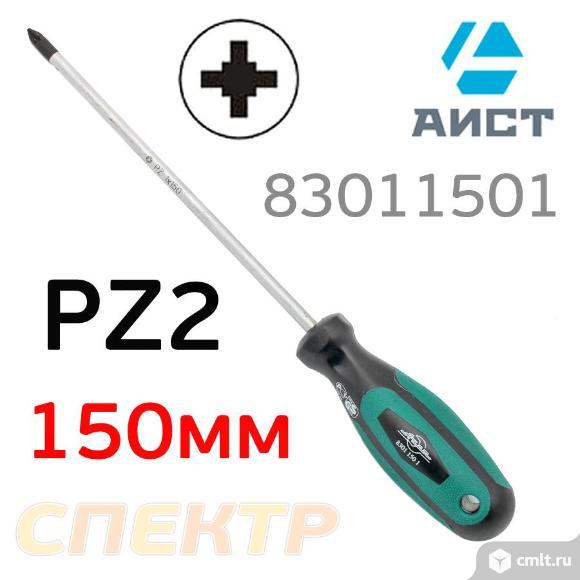 Отвертка PZ1x150мм AIST 83011501 POZIDRIV. Фото 1.