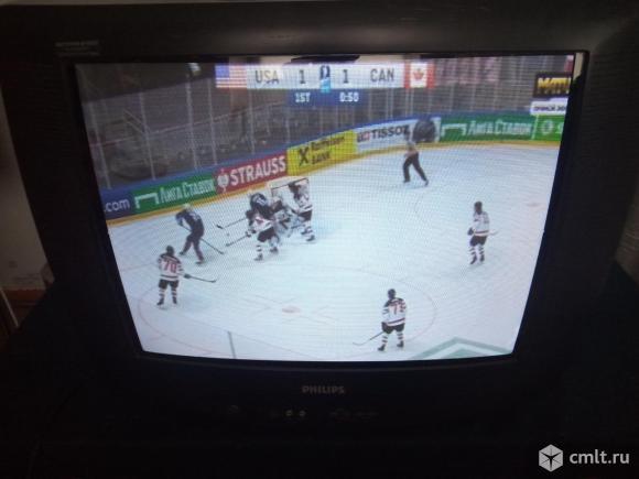 Телевизор кинескопный цв. Philips 21PT2381/58R. Фото 1.
