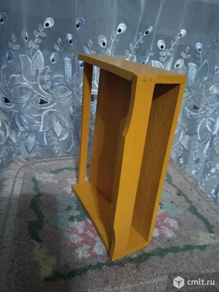 Полка деревянная. Фото 3.