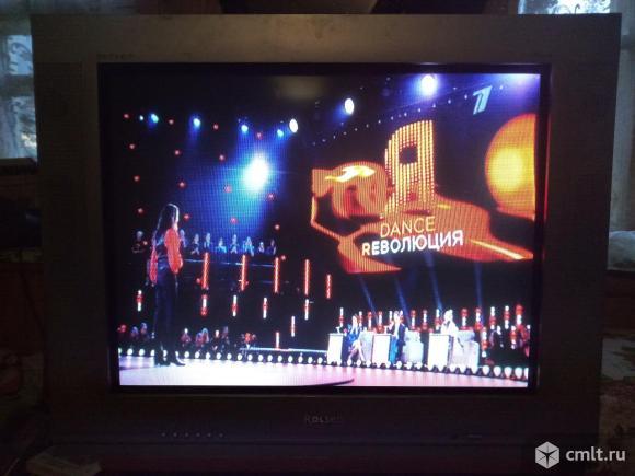 Телевизор кинескопный цв. Rolsen 29R90 Plat. Фото 1.