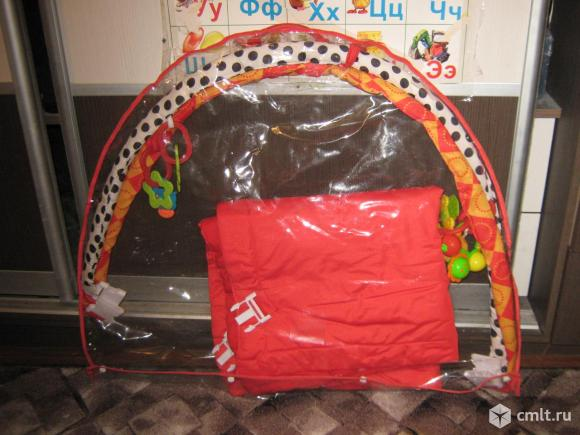 Развивающий коврик для малыша. Фото 5.