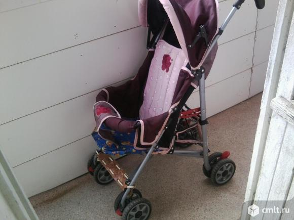 Детская прогулочная коляска. Фото 1.
