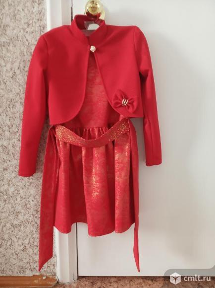 Платье+болеро. Фото 2.