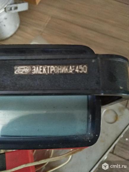 Телевизор кинескопный ч/б Электроника 450. Фото 1.