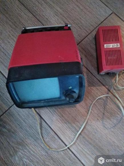 Телевизор кинескопный ч/б Электроника 450. Фото 4.