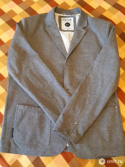 Мужской пиджак серого цвета. Фото 5.