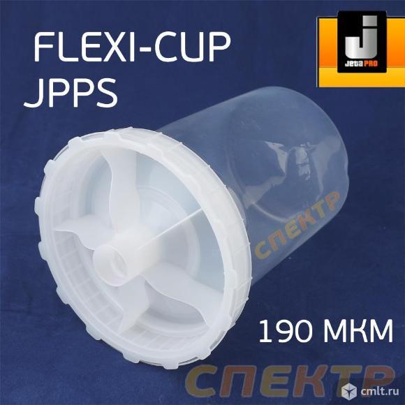 Бачок одноразовый JetaPRO FLEXI-CUP с крышкой. Фото 1.