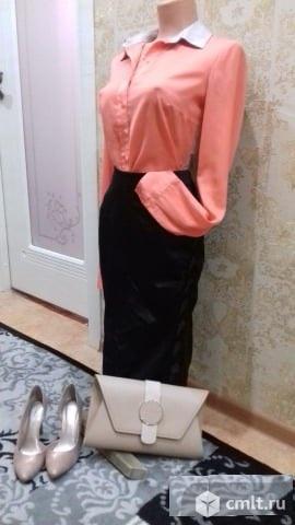 Продаю шелковую блузку.. Фото 1.