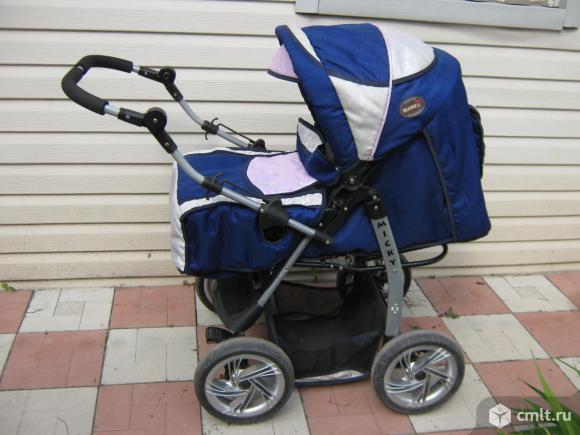 Детская коляска 3 в 1 Slaro S Micky. Фото 1.