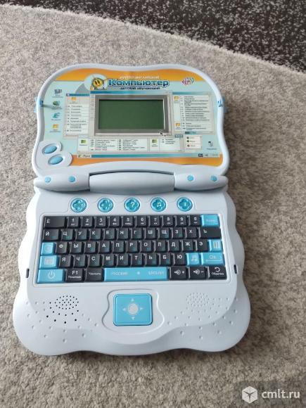 Продаю Детский обучающий компьютер (ноутбук). Фото 1.
