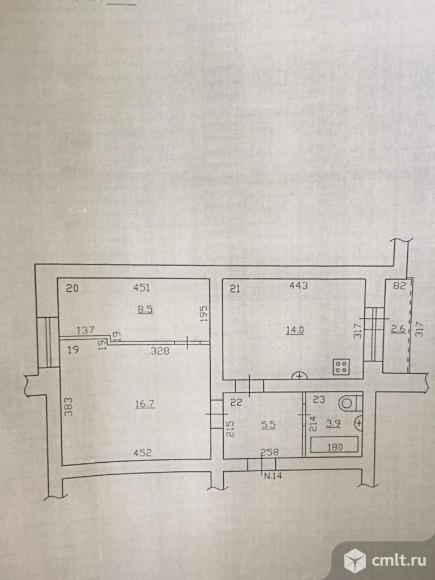 Продается 2-комн. квартира 49 кв.м.. Фото 6.