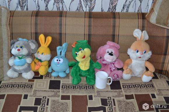 Мягкие игрушки красивые. Фото 1.