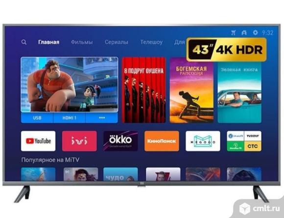 """Новый 43"""" (109см) 4k UHD Smart Wi-Fi Xiaomi Mi TV 4A. Фото 1."""