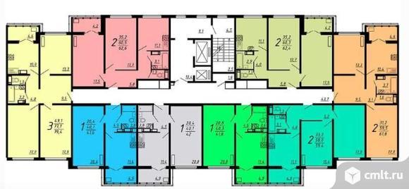 Продается 2-комн. квартира 63 кв.м.. Фото 11.