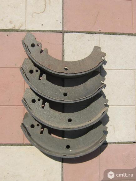 Тормозные колодки ваз задние новые. Фото 1.