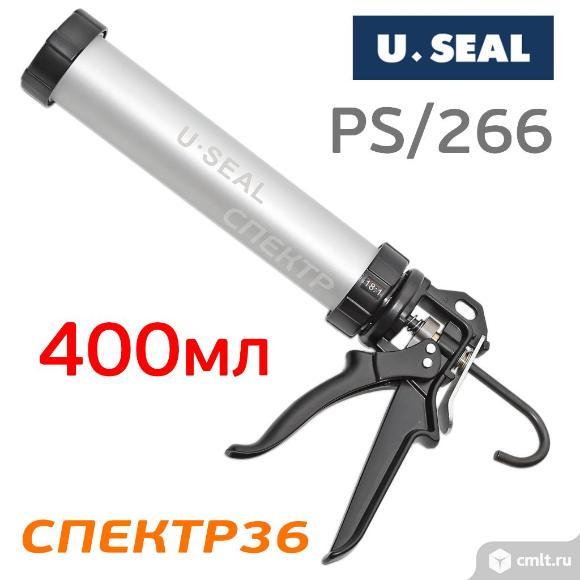 Пистолет для герметика U-SEAL PS/266 под колбасу. Фото 1.