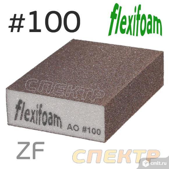 Шлифблок абразивный Flexifoam Block ZF P100 мягкий. Фото 1.
