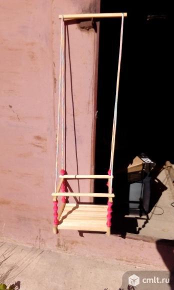 Детские подвесные качели. Фото 1.