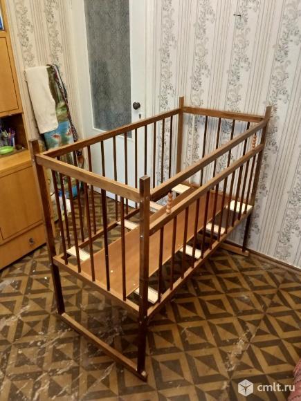 Кроватка-качка детская. Фото 1.