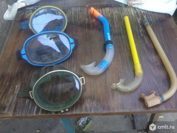 Маски и трубки. Фото 1.