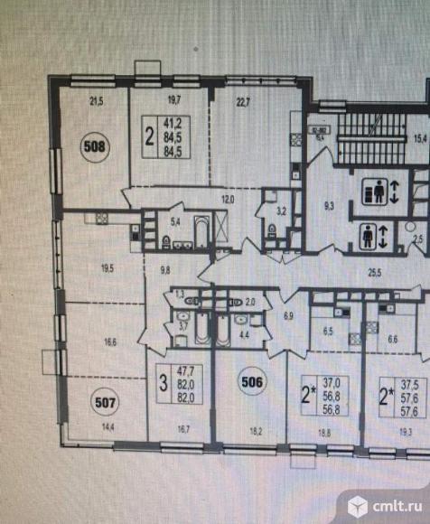 Продам 3-комн. квартиру 82 кв.м.. Фото 2.