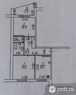 Продается 2-комн. квартира 41.4 кв.м.. Фото 7.